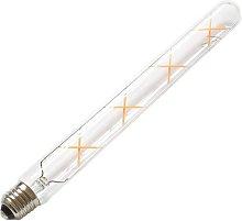 Bombilla Led E27 COB filamento 8W, Ø30x300mm,