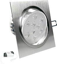 Bombilla LED empotrable 9W 220-240V Foco