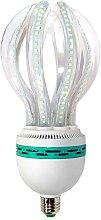 Bombilla Lotus Corn E27 SMD2835 LED 50W, Blanco