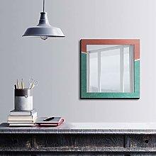 Bonamaison Decoración de Pared, Multicolor, 50x50