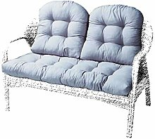 BoruisX Cojín para asiento de jardín de 2