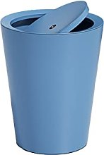 Bote De Basura De Plástico Con Tapa Giratoria,
