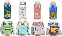 Botella Aislante Taza Termo Portatil Infantil de
