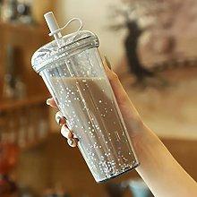 Botella de agua de té de burbujas Vaso de