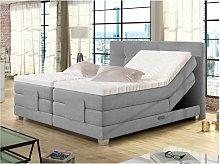 Boxspring completo con cabecero de cama elevable +