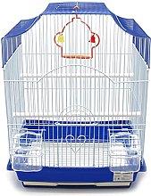 BPS Jaula Pájaros Metal con Comedero Bebedero