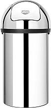 Brabantia Push Bin - Cubo de Basura, 60 litros,