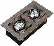 Bricolux - SPOT HALOGENO EMPOTRAB. C/LAMP GU10 2UND