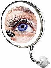 brightsen Espejo De Maquillaje con Aumento De 10