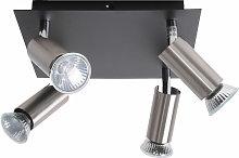 Brilliant - Lámpara de techo ajustable ajustable