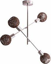 Briloner - Lámpara de techo de diseño Trenza de