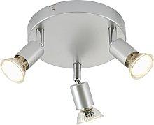 Briloner Leuchten–Foco de Techo LED,
