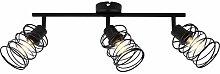 Briloner Leuchten Foco 3 Luces, lámpara de Techo
