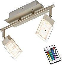 Briloner Leuchten - Foco de techo led (control del