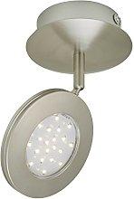 Briloner Leuchten Lámpara de techo, 4.5 W, 1 foco