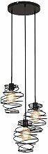 Briloner Leuchten Luz péndulo de 3 Foco, lámpara