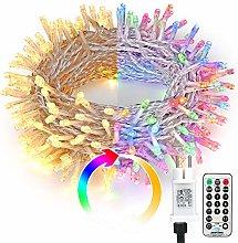 BrizLabs 200 LED Cadena de Luces, 25m Guirnalda de