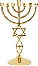 BRTAGG Menorah (Menorá) con Estrella de David,