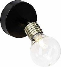 Bulb - Foco de pared (latón envejecido), color