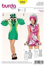 Burda Patrón 2361 Carnaval Mujer Extraterrestre