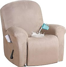 BXFUL Funda de sillón Relax Terciopelo-óptico,