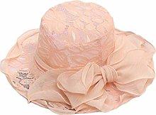 BXGZXYQ Se Puede Doblar el Sombrero de Mujer