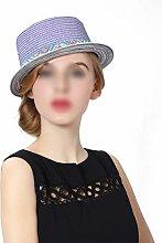 BXGZXYQ Sombrero de Playa Dama de Primavera y
