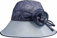 BXGZXYQ Sombrero de Seda para sombrilla Sombrero