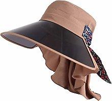 BXGZXYQ Sombrero Sombrilla Sombrero de Verano