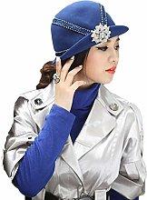 BXGZXYQ Un Elegante Sombrero con un pequeño