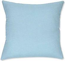 BYRON HOYLE Color de azul funda de almohada