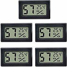 C/N Termómetro higrómetro mini digital medidor