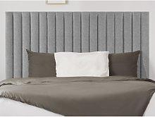 Cabecero cama SARAH - 160 cm - Tela - Gris