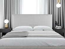Cabecero cama tapizado LONDRES 135*70 PLATA