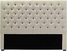 Cabecero de cama 160 cm AURELE - Lino - Beige