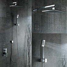 Cabezal de ducha oculto Kit de grifo de ducha