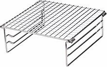 Cabilock Estante de Metal para Hornear Plegable