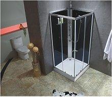 Cabina de ducha con hidromasaje CASSIA - 3 chorros