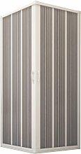 Cabina de ducha en PVC 80x100CM H185 plegable con