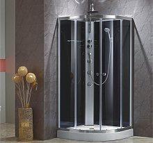 Cabina de ducha rinconera con hidromasaje TALULA -