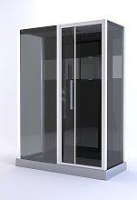 Cabina Ducha Rectangular 75X150X225Cm- Cosmos Xxl
