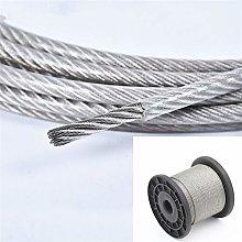 Cable Acero Trenzado,Cable De Alambre 10 Medidor