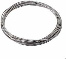 Cable Acero Trenzado,Cable De Alambre 2pcs 10m 304