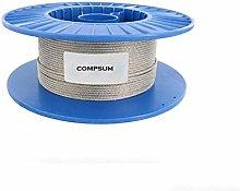 Cable Acero Trenzado,Cable De Alambre 7X7 304