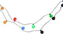 Cadena luminosa LED guirnalda con bolas de