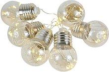 Cadena luminosa LED guirnalda con bombillas FAIRY