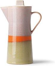 Cafetera de cerámica de los años 70