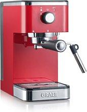 Cafetera Espresso Salita Roja Graef