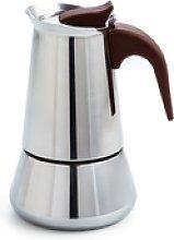 Cafetera inox 6 tazas