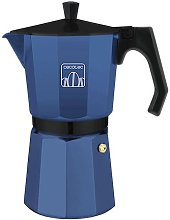 Cafetera italiana mokclassic 900 blue - Cecotec